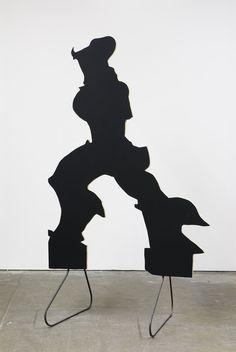 Peter Coffin - Sculpture Silhouette Prop (U. Boccioni 'Unique Forms of Continuity in Space' 1913)