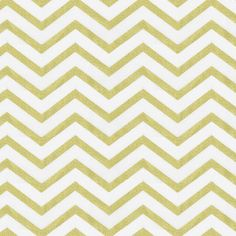 White and Gold Chevron Fabric by the Yard I Carousel Designs.  This incredible fabric combines the modern look of chevron with the ultra contemporary gold metallic. Printed on a soft 100% cotton fabric this fabric is a real stand-out!