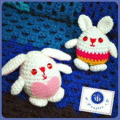 Easter bunny egg - free crochet pattern