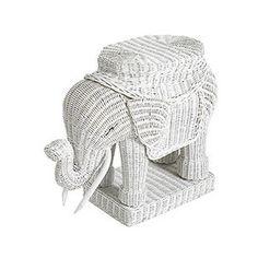 Pier One elephant table @Elizabeth