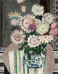 Jean Pierre Cassigneul - Bouquet de tournesols