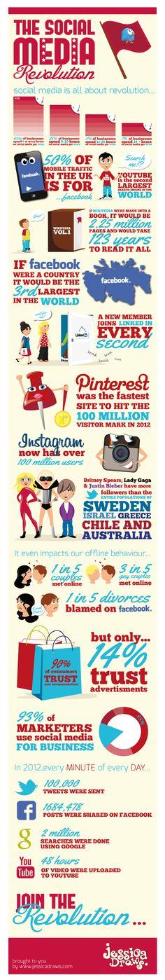 Infographic-The Social Media Revolution