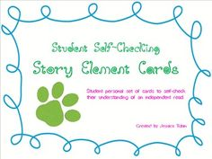 Story Element Cards
