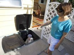 Trash Can Storm Shelter - do it yourself easy and cheap
