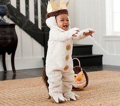 Baby Where The Wild Things Are Max Costume #PotteryBarnKids