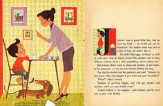 The Boy Who Wouldn't Eat His Breakfast by Elizabeth Brozowska (1963)