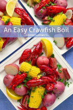 Just in time for summer!!!! Easy Crawfish Boil Recipe!!! |cookthestory.com
