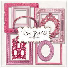 Pink frame freebie