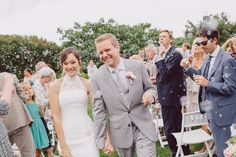 Bubbles of celebration fly over the happy couple. http://www.annenaylorcelebrant.com/