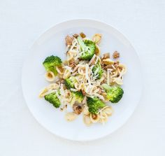 Orecchiette with Broccoli and Sausage