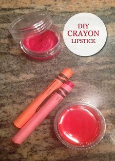 DIY Crayons Lipstick   Beauty and MakeUp Tips