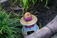 Upcycle broken or cracked terra cotta pots into toad habitats ie. toad houses.