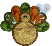 Turkey Embroidered Applique Patch