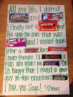 Boyfriend!! Aaaaw!!! I should do this for my gorgeous Filipino boy :)