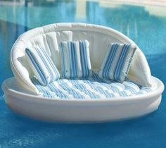 Pool sofa,  I want this for the lake...
