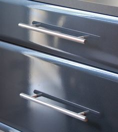 Pull out drawers for easy garage storage!