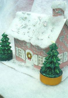 Ash Tree Cottage ~ Christmas in July crafts