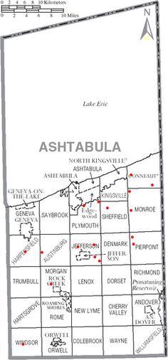 Road trip - List of Ashtabula County Ohio covered bridges