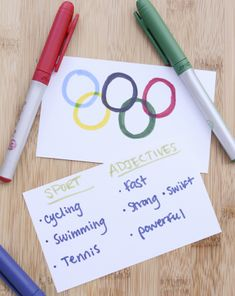 Activities: Olympic Writing