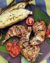 Fennel-Garlic Chicken Legs