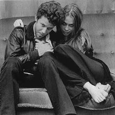 Tom Waits and Ricky Lee Jones