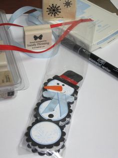 snowman York peppermint patties