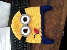 Despicable Me Minion Hat- crochet