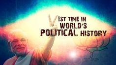 The future of politics? No more staring at a screen. - inside NaMo 3D 2014 Hologram War Room & STUDIO : A Short Film