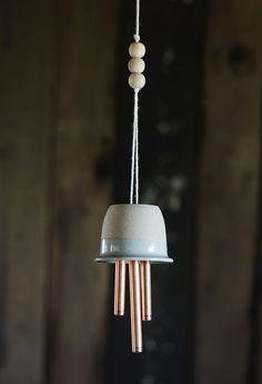 DIY | Ceramic & Copper Wind Chimes