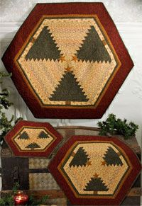 Christmas on the Prairie Table Center Pattern by Chickadee Hollow Designs at KayeWood.com. http://www.kayewood.com/item/Christmas_on_the_Prairie_Table_Center_Pattern/3311 $5.00
