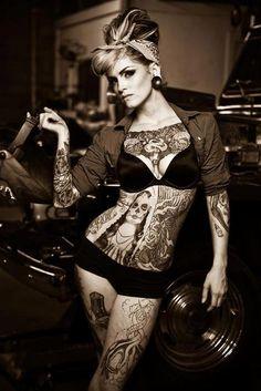 #tattoos #woman #girls