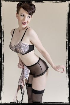 Sweet Pins  Sweet Pins is an online boutique specializing in lingerie and hosiery that is inspired by classic vintage, pin up and burlesque looks. When you make a purchase from Sweet Pins...  More Text and more Pictures:  http://pinup-fashion.net/1922/sweet-pins/