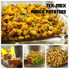 Tex Mex Ranch Potatoes