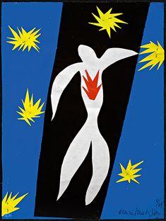 The Fall of Icarus, 1943. Photograph: Alberto Ricci / Succession Henri Matisse / DACS 2014