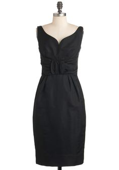 Vintage LB Dinner Dance Dress--love the neckline