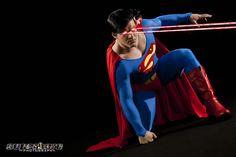 Superman  Model: Jonathan Carroll  Photography: SuperHero Photography by Adam Jay