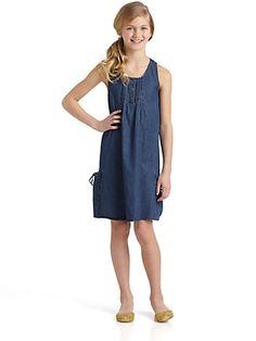 DKNY - Girls Reef Dress - Saks.com