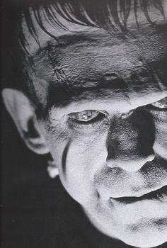 Boris Karloff as The Monster