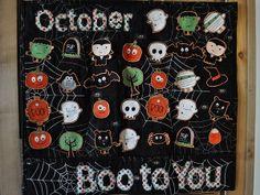 Halloween Countdown Calendar | Free Quilt Tutorial | FaveQuilts.com