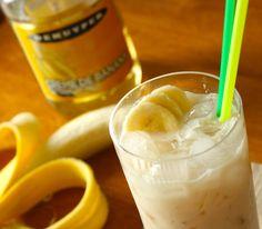 Screaming Banshee (1oz Vodka 1oz Creme de Banana 1oz Creme de Cacao 3oz Cream) banana vodka, scream banshe, de cacao, bananas, creme de banana, banana banshee, beverag, drink recipes, banshe recip