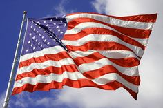American flag by JakeCunliffe