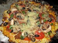 Low carb pizza!!! OMG!
