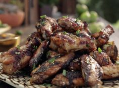 Firecracker Chicken Wings Recipe : Guy Fieri : Food Network - FoodNetwork.com