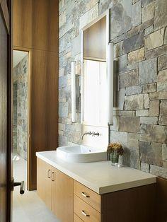 Stone Bathroom Design