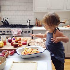 kitchen, kid