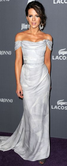 Kate Beckinsale in Vivienne Westwood  2012 Costume Designers Awards