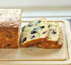 Blueberry Oat Quick Bread