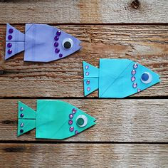 School of Cardboard Tube Fish - submitted to Inspiration DIY by @amandaformaro Crafts My Amanda