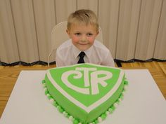 cute CTR cake.  What a great cake to make to celebrate baptism day!!!