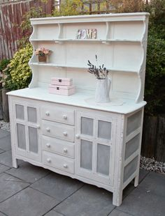 Shabby Chic French Country Farmhouse Solid Oak by Foundintheloft, £350.00 baby girl rooms, shabbi chic, countri farmhous, french country, french countri, chic shabby, baby girls, country farmhouse, shabby chic french